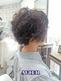 黒髪でも柔らかい毛質にチェンジ!ふんわりショートヘア