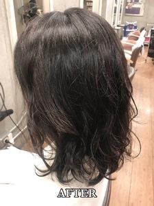 【エアウェーブ】直毛さんにおすすめ!ゆったりウェーブ