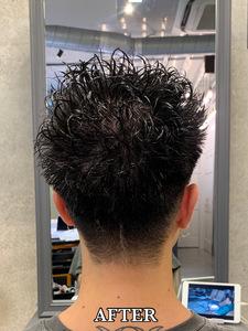 【炭酸パーマ】梅雨に負けないブリーチ毛にフレッシュパーマ♪