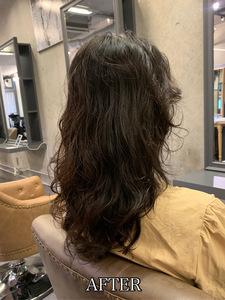 【エアウェーブ】直毛でもスパイラルパーマでボリュームアップヘア♪