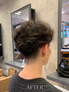 【炭酸パーマ】くせ毛を活かしたニュアンスパーマ