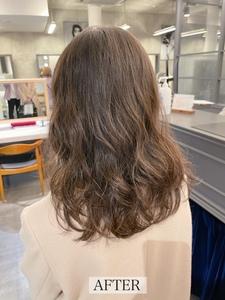 【エアウェーブ】直毛でかかりにくい髪質でもお任せ下さい♪