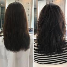 縮毛矯正に頼らず、まとまるヘアスタイル
