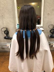 ヘアドネーション、バッサリカット後こそパーマがおすすめ! エアウェーブで叶える素敵髪。