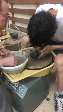 人生初の陶芸