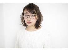 眼鏡に似合うパーマスタイル!