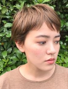 ショートヘアで大事なのは、ズバリ『前髪』