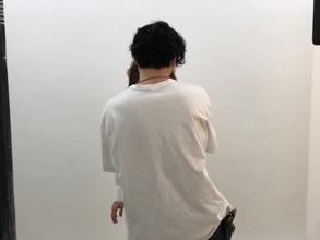 美容業界誌パーマ撮影