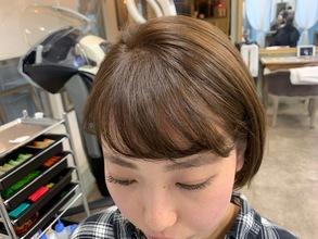 朝楽!前髪パーマで時短と小顔効果を手に入れよう!