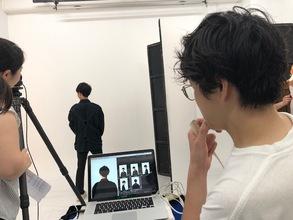 メンズヘアカタログの撮影